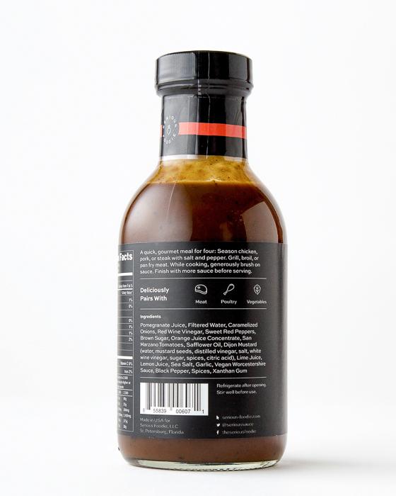 Mediterranean Pomegranate Grill Sauce and Marinade