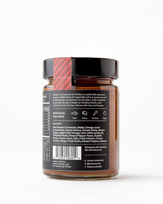 Mirasol Mole Cooking Sauce