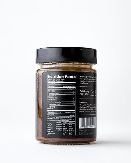 New Zealand Tamarillo Grill Sauce and Marinade