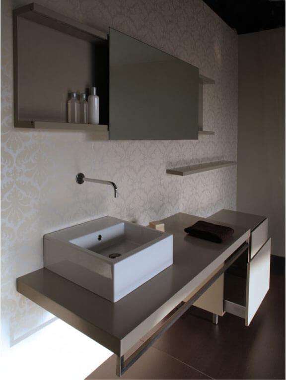 Linha de mobiliário de Casa de Banho