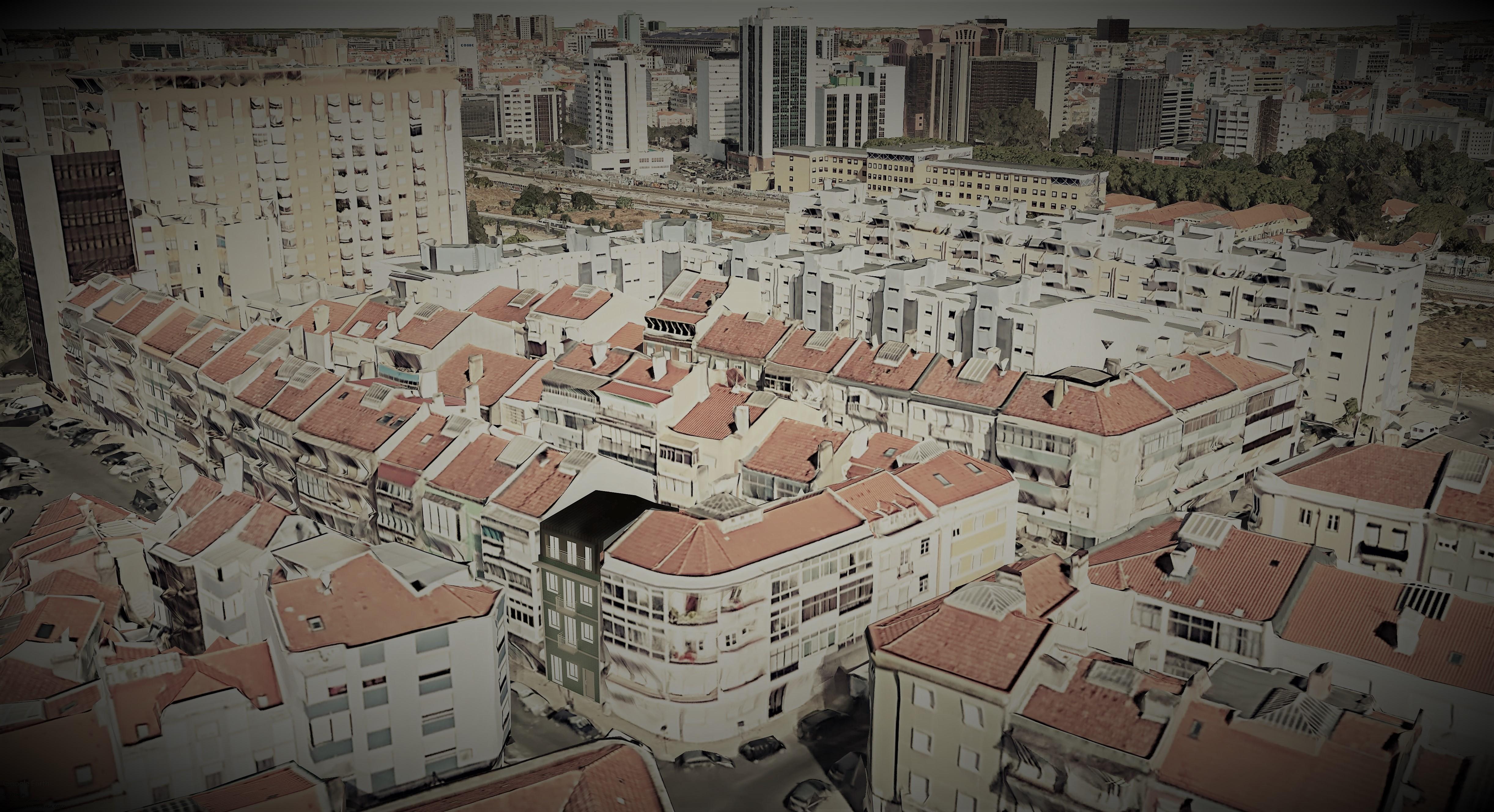 Simulação do edifício carlos dos Reis