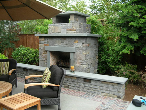 Warm, Magical Outdoor Fireplaces-image