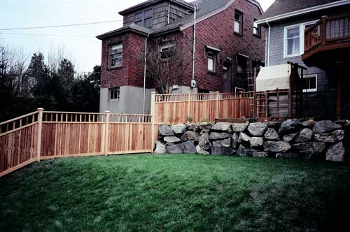 Wood Fences, Gates and Residential Security Image