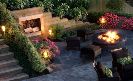 Fireplaces, Firepits and Ovens Image
