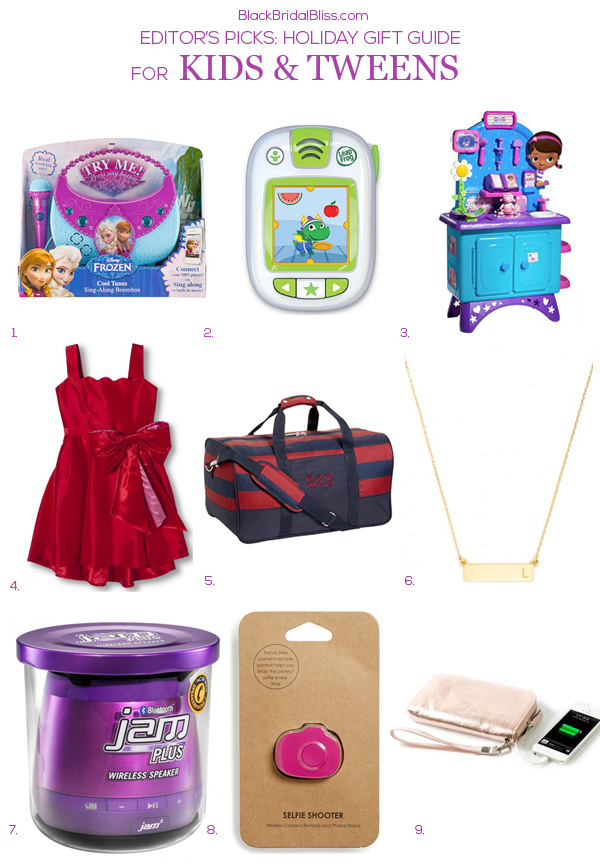 HOLIDAY GIFT GUIDE FOR KIDS + TWEENS