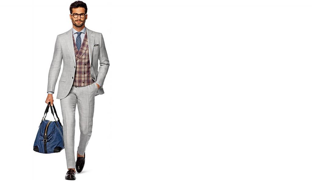 Grey Suit _ Suit Supply