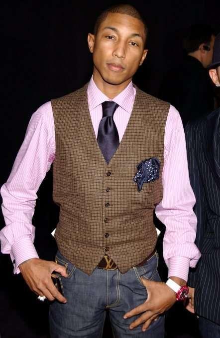 Pharrell Williams on Black Bridal Bliss