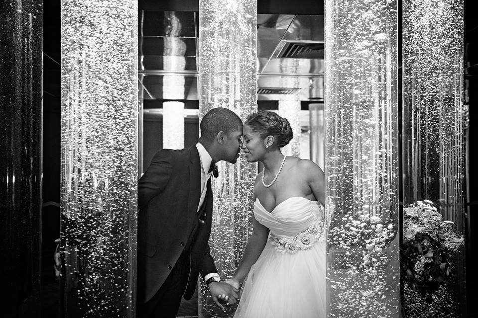 Tie the Knot Tuesday Presents: L'Oreal + Jeff in Maryland! Share their love.