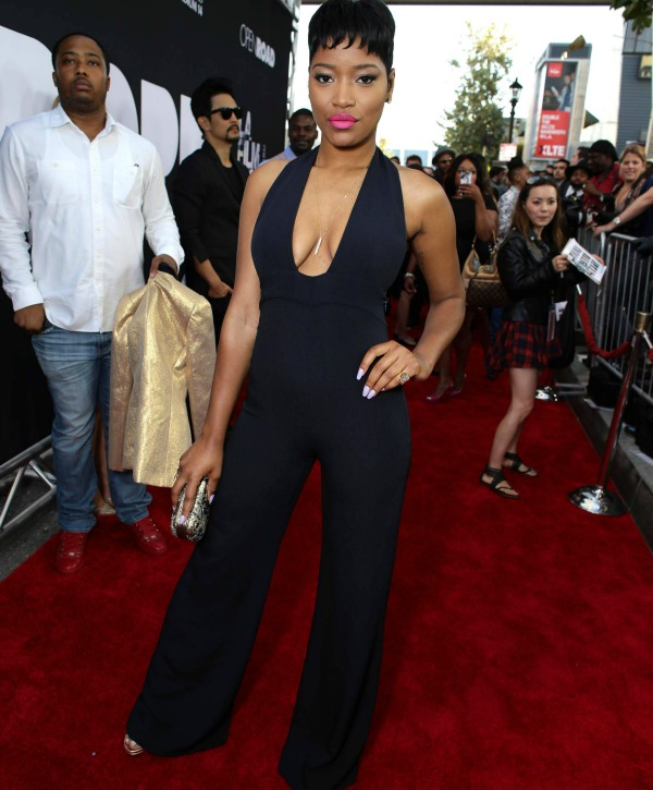Actress Keke Palmer at the DOPE movie premiere in L.A.