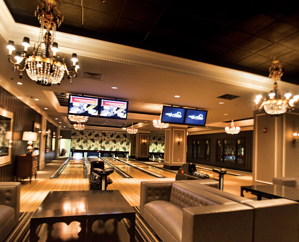 High Rollers Luxury Lanes at Foxwoods Resort