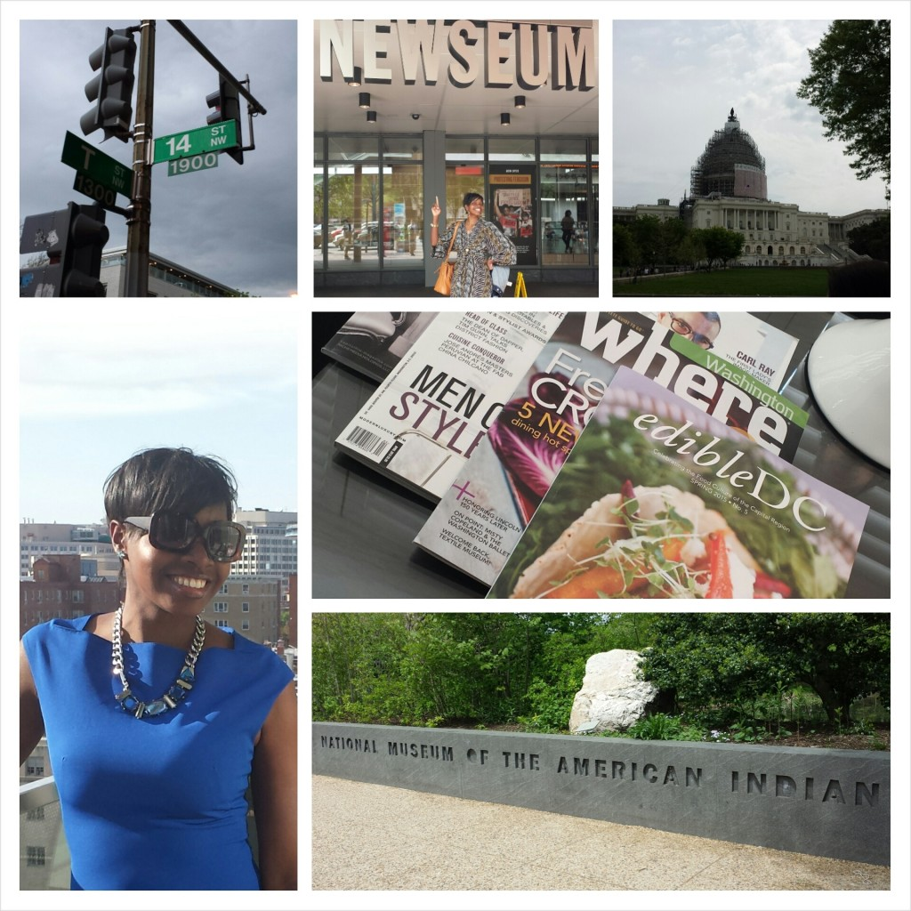 DC Chillin': Triple B on the scene in Washington, DC earlier this year!