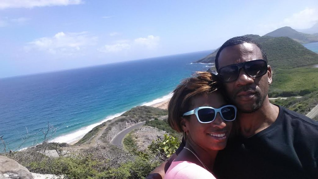 Making Memories in St. Kitts: Cleo vacations sans children as a great way to keep marriage fresh.