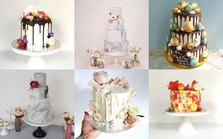Have a look at these awesome wedding cake trends!