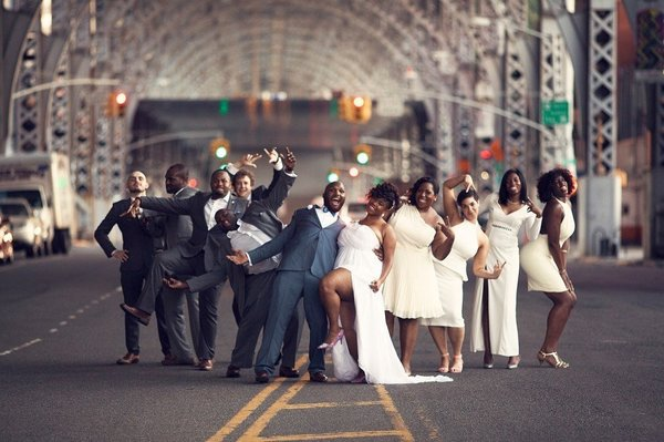 We're talking mismatched bridal party's on BNYCU!