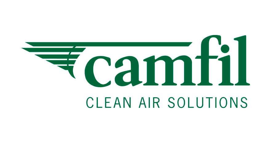 Logo de Camfil-Clean Air Solution