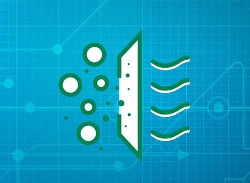 Filtros con alta eficiencia de retención de partículas