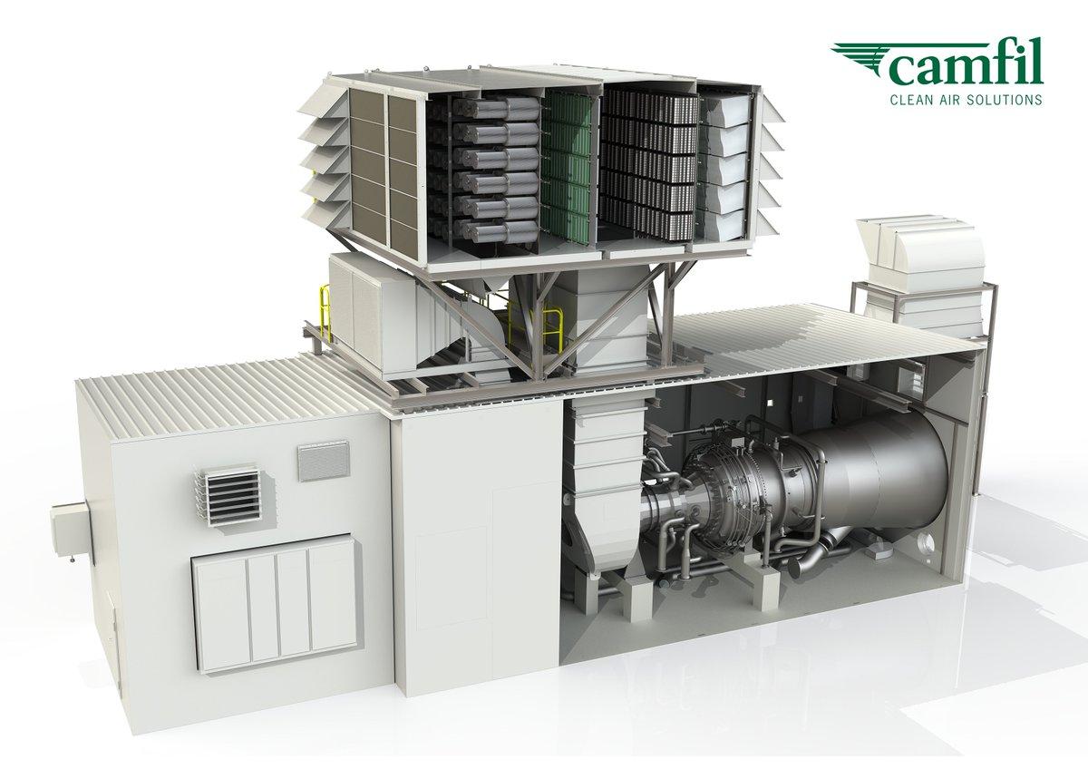 Filtros y servicio para Turbinas de gas o ciclos combinados