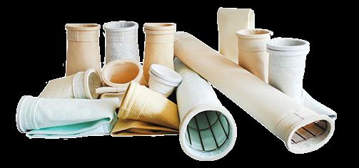 Mangas filtrantes para colectores de polvo