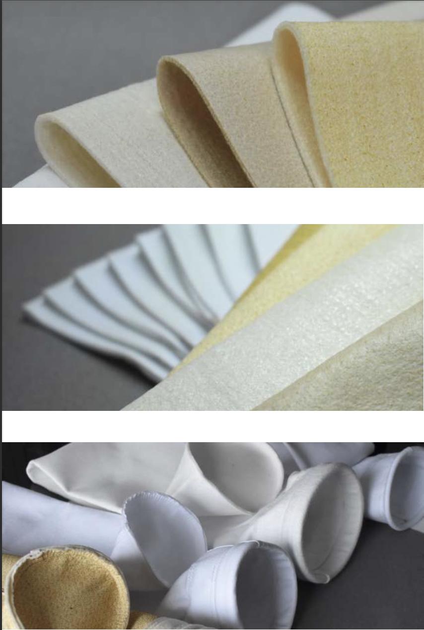 Materiales de Mangas de colectores de polvo