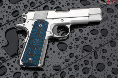 John's new Pete Single 1911, VZ, 1911, Colt blue black stipple texture