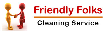 Friendly Folks Cleaning Service Logo