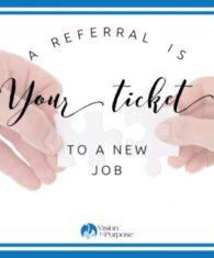 Referral, job referral