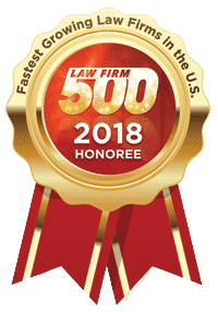 Law Firm 500 Award Winner Siegel Law Group 2018