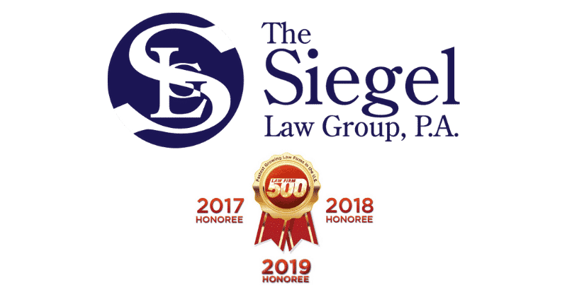 The Siegel Law Group Named 2019 Law Firm 500 Honoree