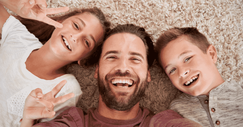Father and 2 Children: This Father's Day, Gift Your Children Peace of Mind | Florida Estate and Elder Law Attorney Barry D. Siegel at The Siegel Law Group, P.A