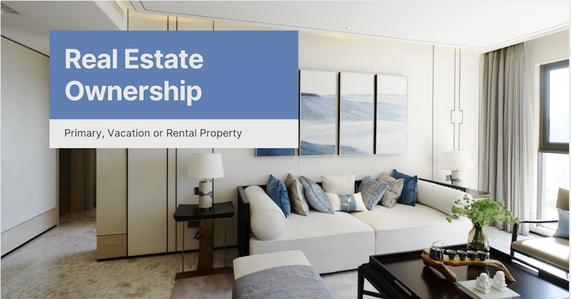 Real Estate Ownership: Options for Owning a Primary Residence, Vacation Home or a Rental Property in Florida | Florida Estate and Elder LawAttorney Barry D. Siegel at The Siegel Law Group, P.A