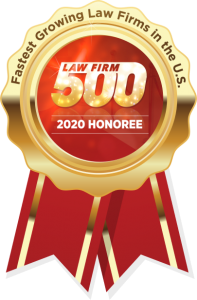 Law Firm 500 2020 Award Winner Siegel Law Group