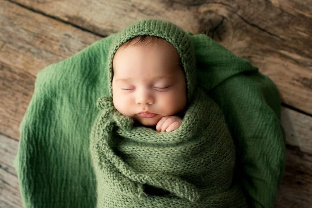 Girl Newborn Photo