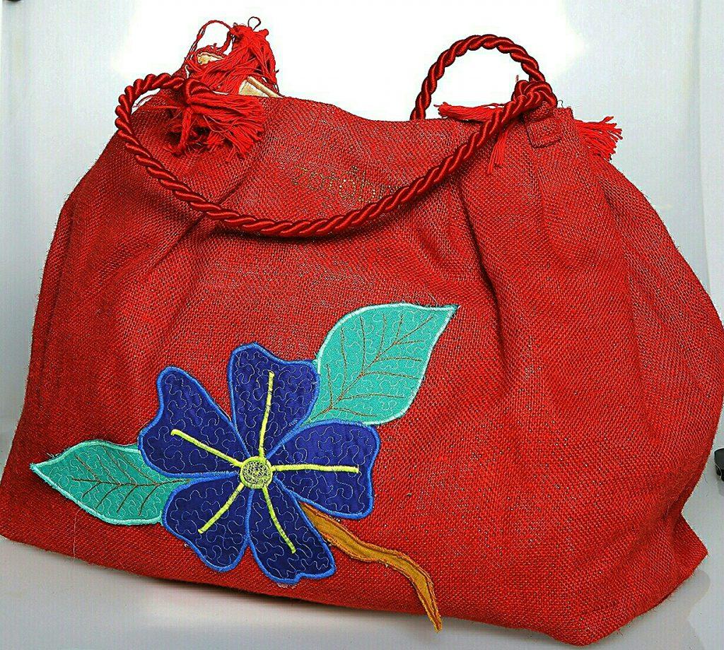 The Hibiscus Tote Bag