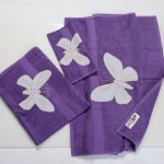 Butterfly Decorative Towel Set