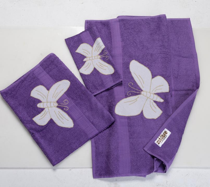 Butterfly Decorative Towel Set
