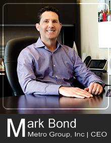 Metro Group CEO | Mark Bond