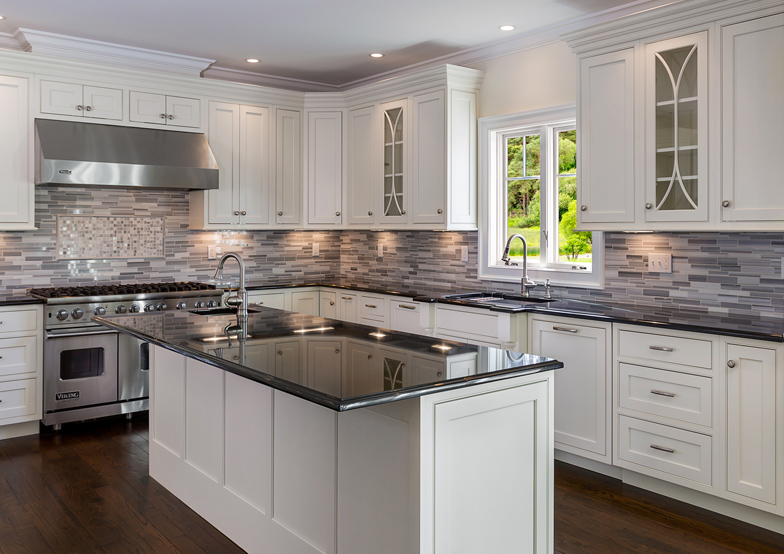 white cabinets modern kitchen remodeling