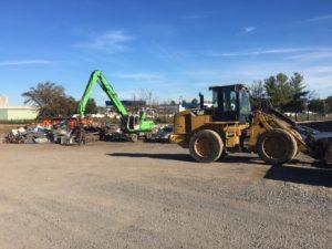 Rockingham scrap metal yard