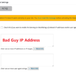 All in One WP Security and Firewall to block IP address to View my Website