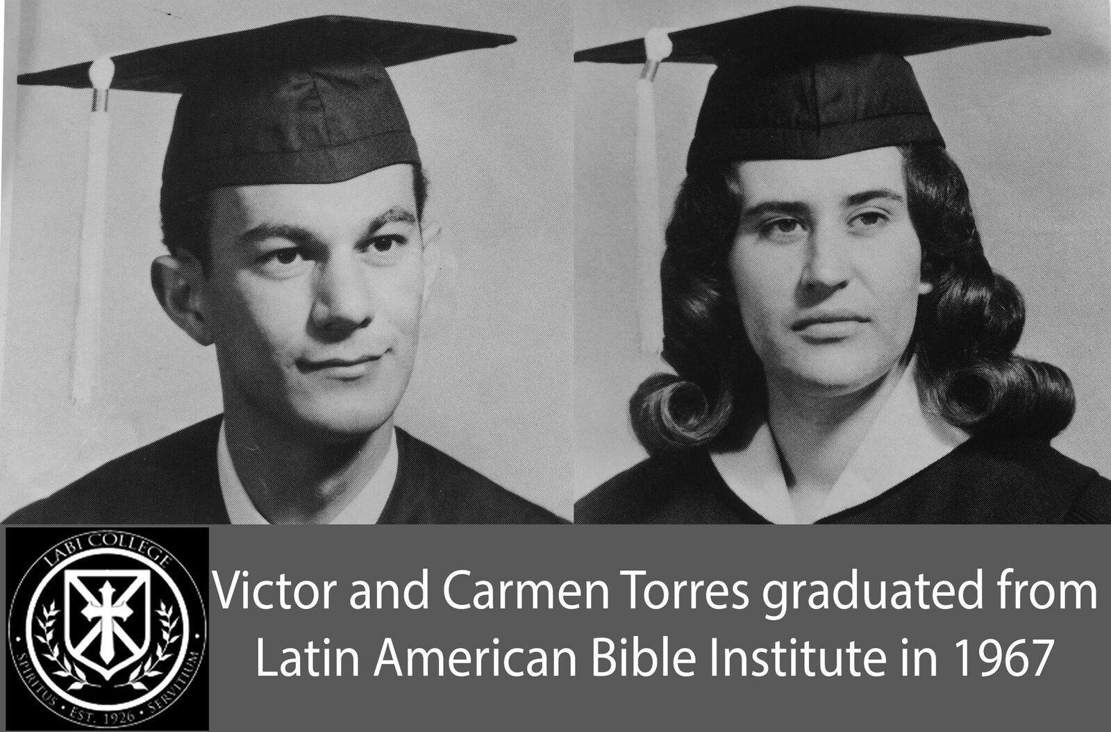 Victor and Carmen Torres graduate from LAD