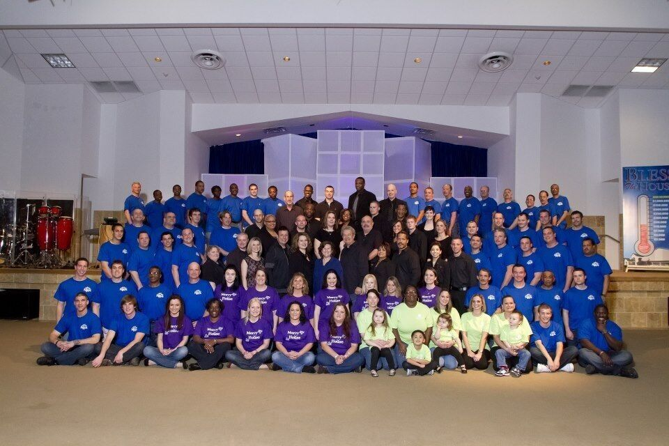 New Life For Youth students and staff