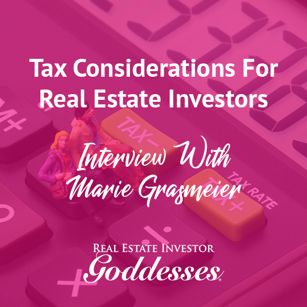 REIG Marie | Tax Considerations
