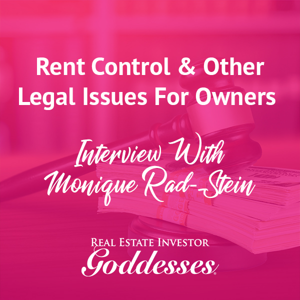 REIG Monique | Rent Control