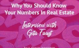 REIG Gita Faust | Know Your Numbers