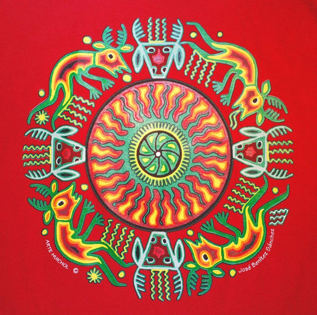 Yarn Art With Huichol God Tatawari