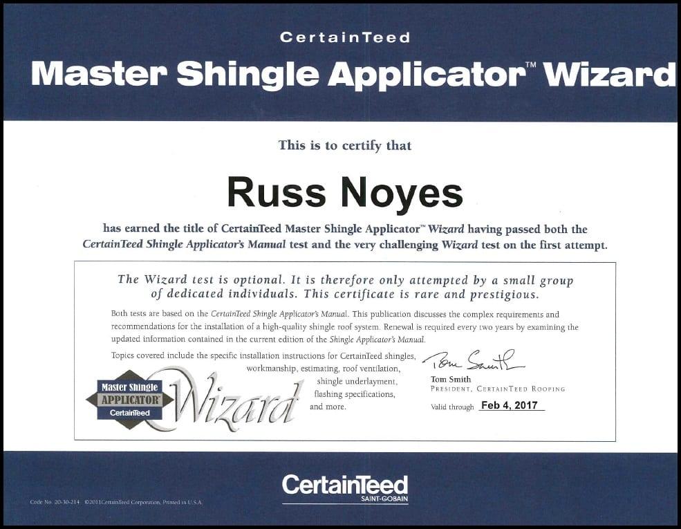 Certainteed Shingle Wizard