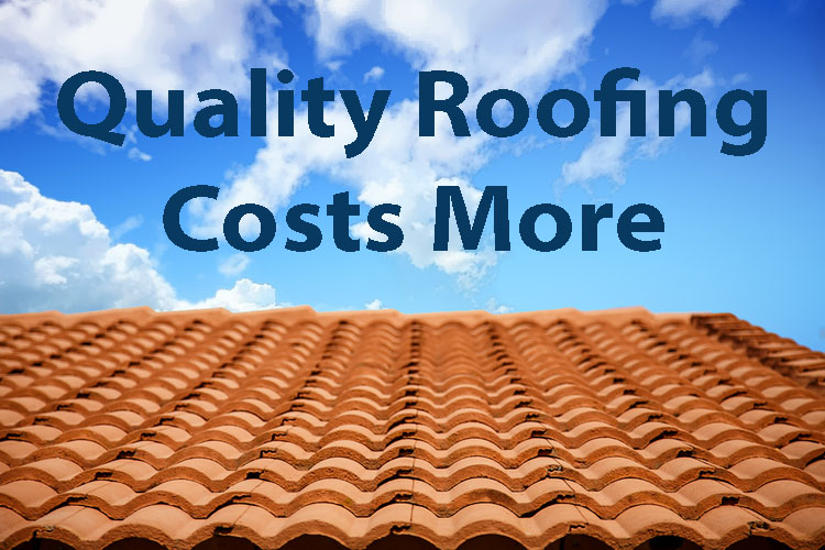 Roof Repairs & Replacement – Cheapest Isn't Best