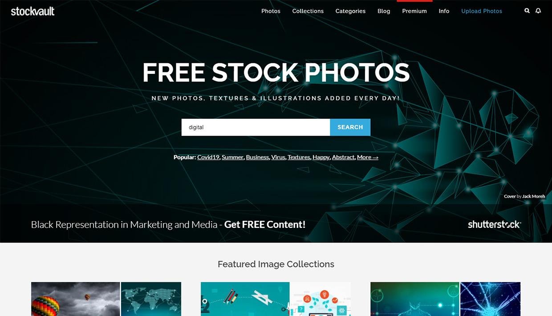 stockvault homepage