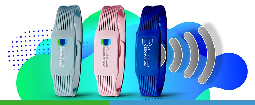 dukhan bank qatar payment wristbands