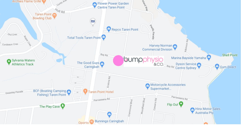 Directions to bump physio Taren Point